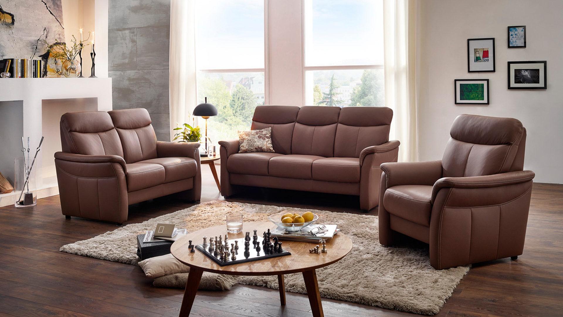 orthoSedis 3-Sitzer und 2-Sitzer, Sofas mit Federkern ...