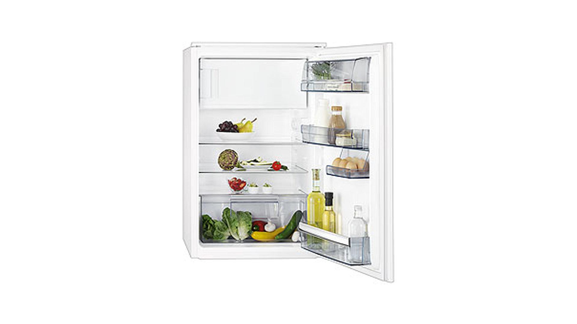 Aeg Kühlschrank Laut : Aeg kühlschrank mit gefrierfach sd884s2 nutzinhalt ca. 123 liter