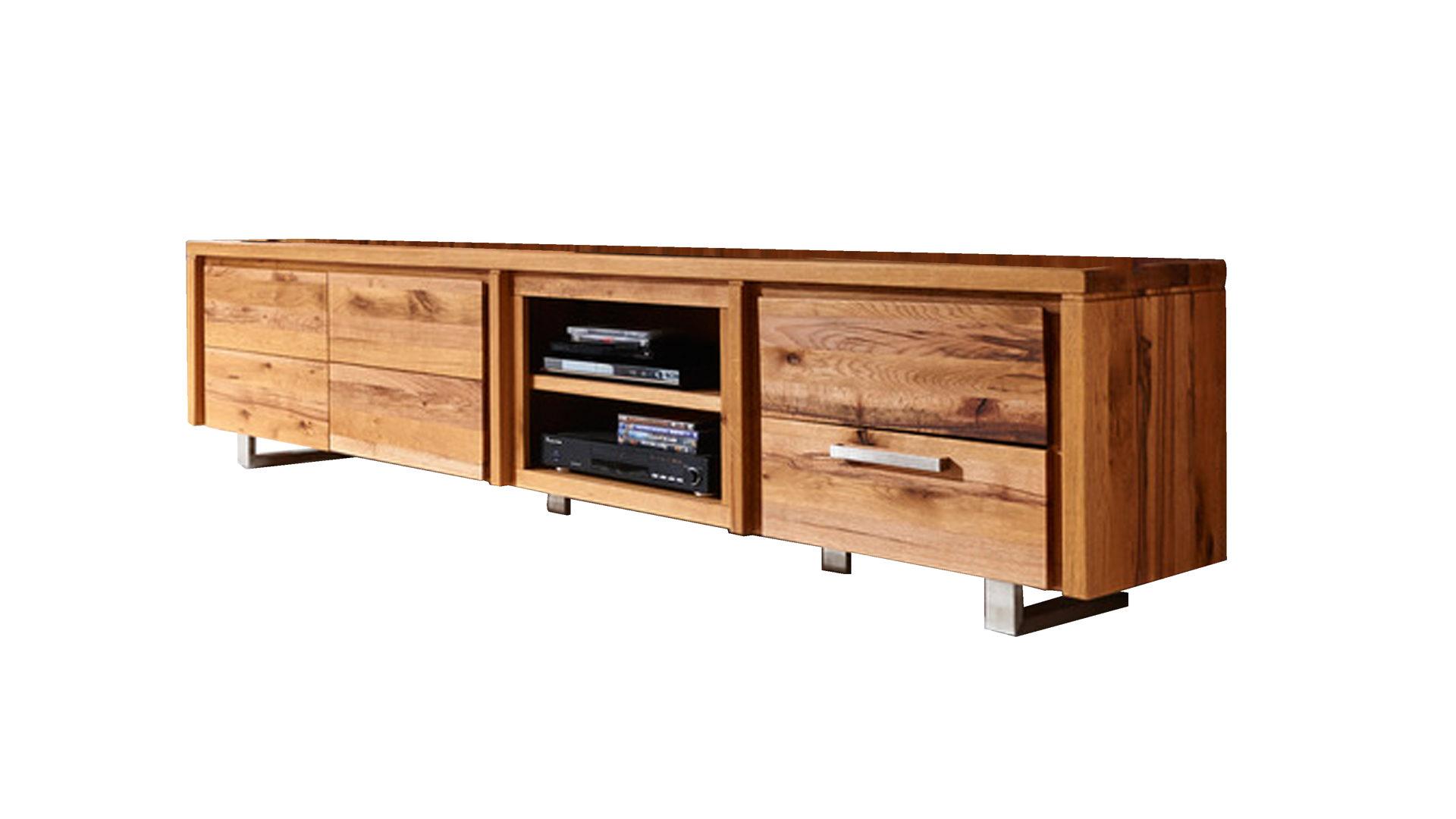 HABUFA Medien-Lowboard Masters als TV-Möbel, Vintage naturfarbene ...
