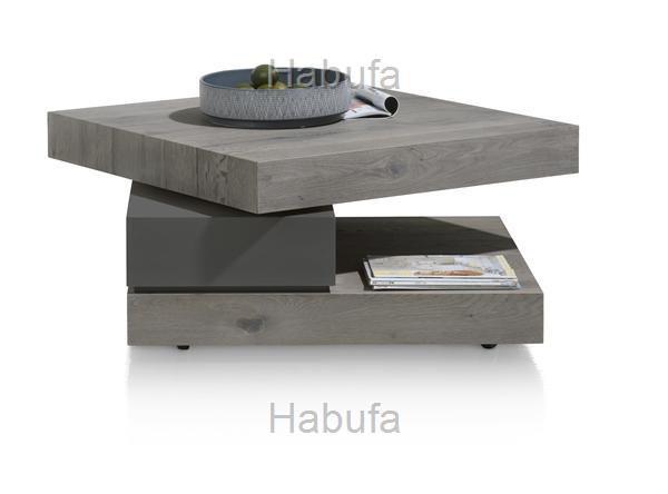 couchtisch grau habufa saruna 37027002 drehbare platte antr hochglanz