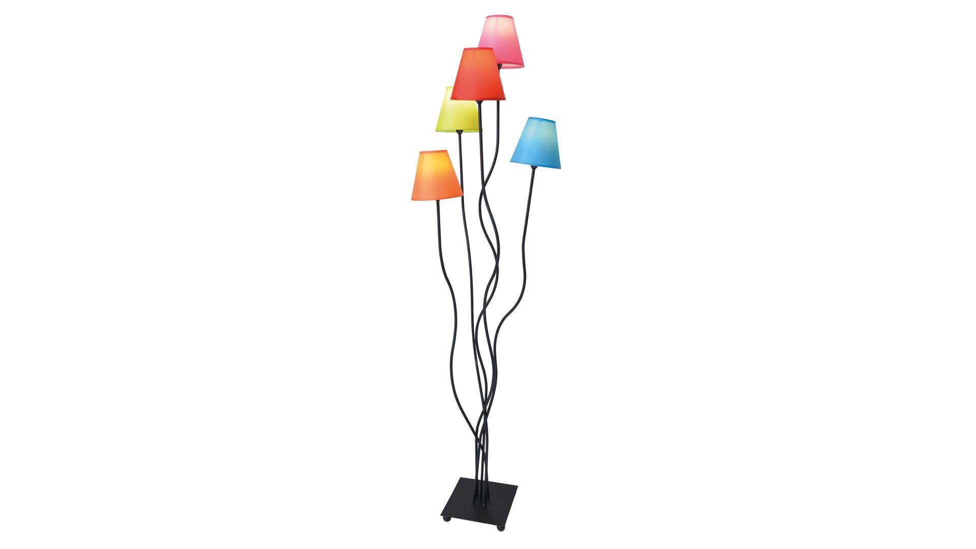 Nave Stehleuchte Colori Bunte Lampenschirme Hohe Ca 156 Cm Bad