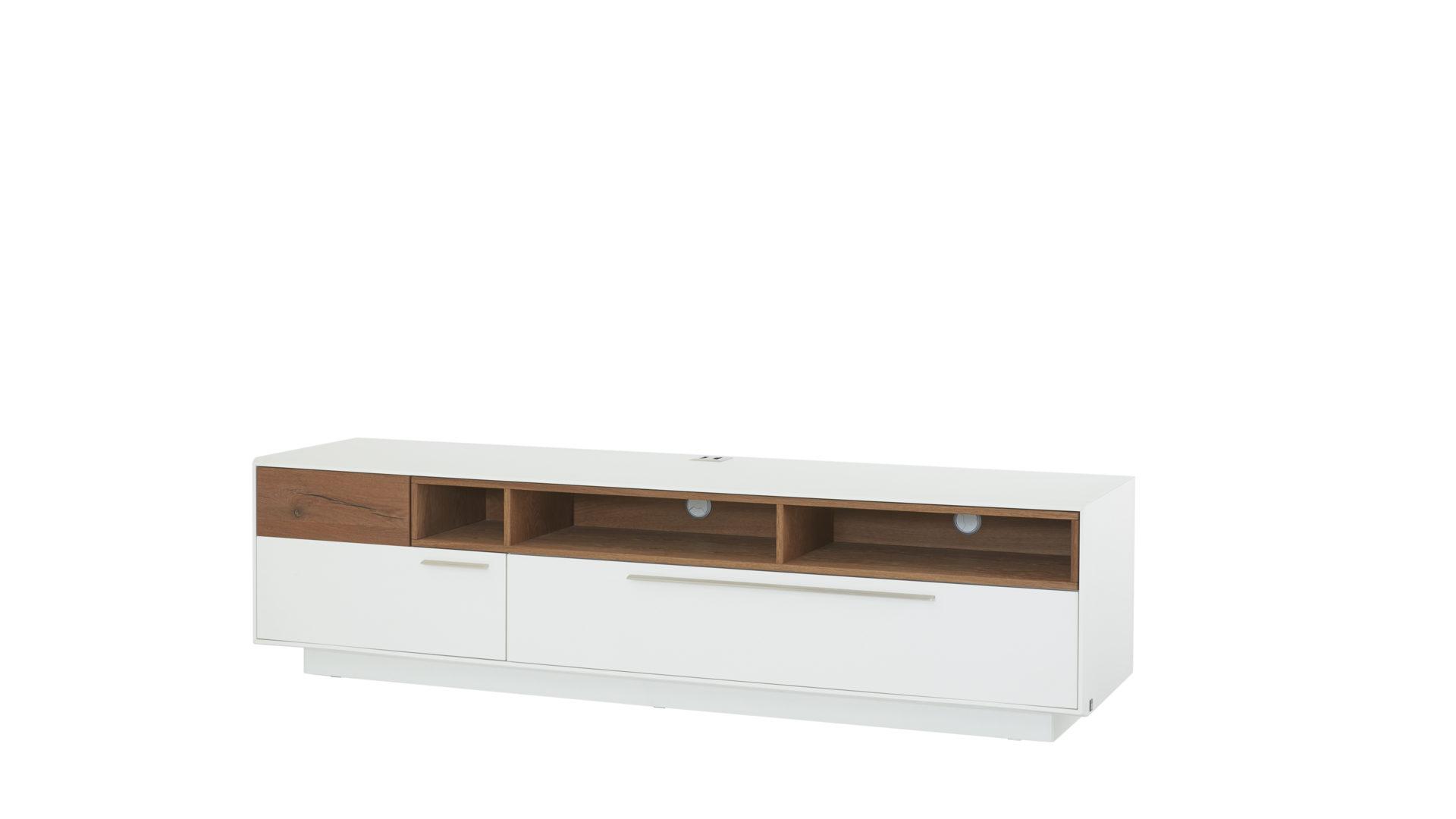 lowboard die hausmarke il aus holz in holzfarben interliving wohnzimmer serie 2102 medienboard dunkles